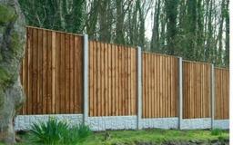 Finished Closeboard Fence Panel