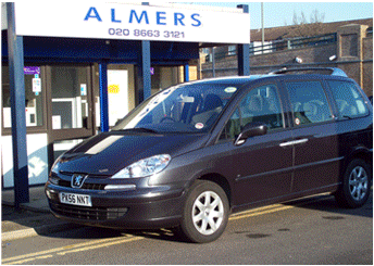 Car Hire Elmers End