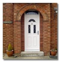 Pvcu Door With A Moulded Door Panel