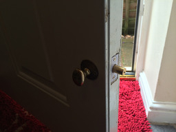 mortice bolt lock replaced