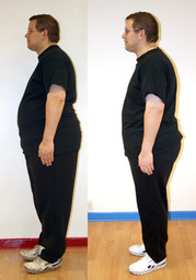 Robin has lost a whopping 4 stone 7 pounds!