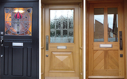 Traditional Front Doors, custom made in Nottingham