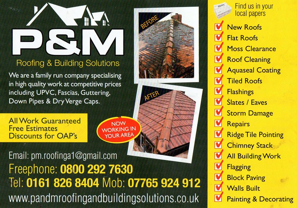 Details For P Amp M Roofing Amp Building Solutions In 28