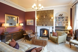 Lounge at Knockendarroch Hotel and Restaurant in Pitlochry