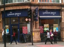 London Print Co. Shaftesbury Ave.