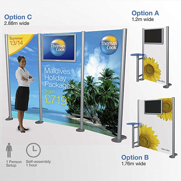 Marketing Exhibition Stand Jobs : Details for banner stands pop up displays in fareham