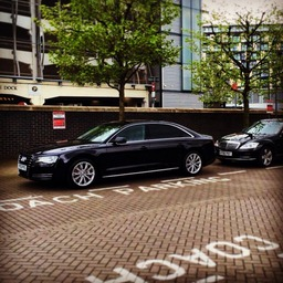 Mercedes S Class and Audi A8. York Chauffeur