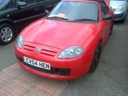 2004 MG CONVERTIBLE 65K LONG MOT £1995 P/X WELCOME