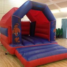 Spiderman Bouncy Castle for hire at £50 a day