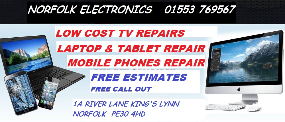 king's lynn norfolk television, computer, phone & tablet repairs ... - Mobile Tv Repair