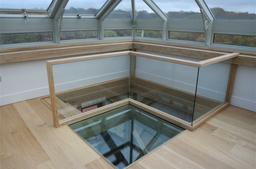 Glass Roof, Ballustade & Floor