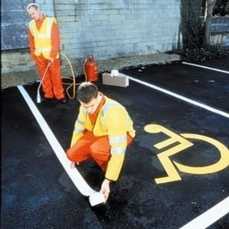Flexiline Thermoplastic Line Marking