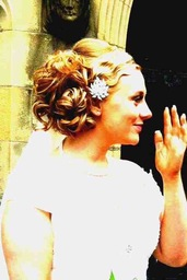 one of my bridal hair up's.