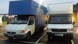 two of removals in hull vans on route to York