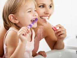 Good dental habits learnt early stay with your child for life.