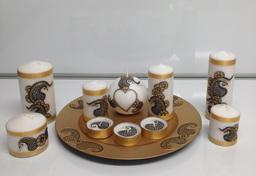 Mehndi Candles