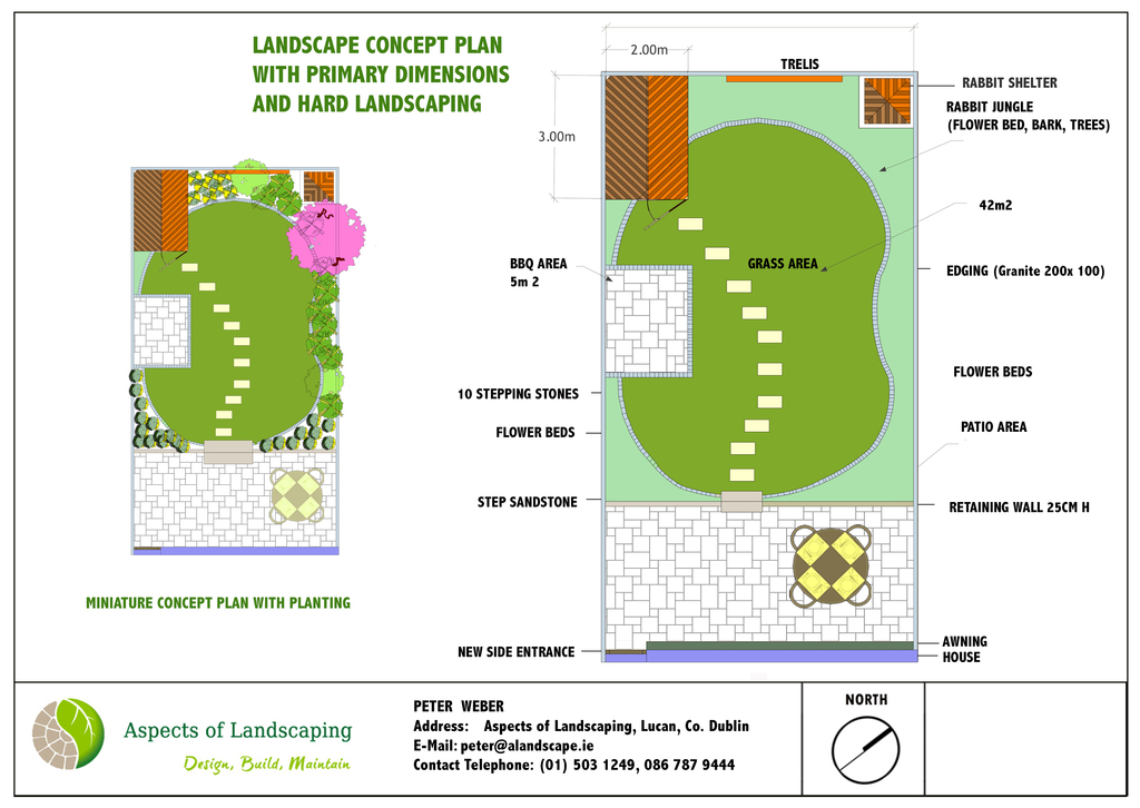 back garden design by aspects of landscaping