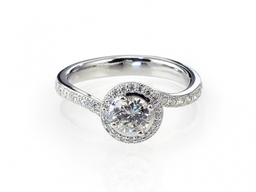 """Azure +"" Engagement Ring"