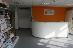 Our Award winning reception area at our Clifton road branch