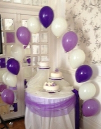 Cake Table Arch at the Burlington Hotel, Worthing