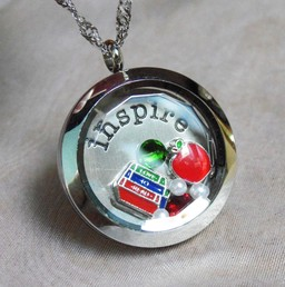Special Floating Locket Teacher Gift