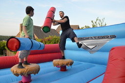 Gladiator duel inflatable