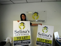Selina's Lettings Gloucester Boards