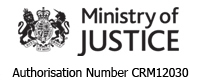 Ministry of Justice Authorisation
