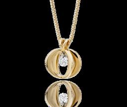 Cinderella Diamond Pendant