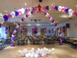 Dancefloor Canopy With Jumbo Centre Star