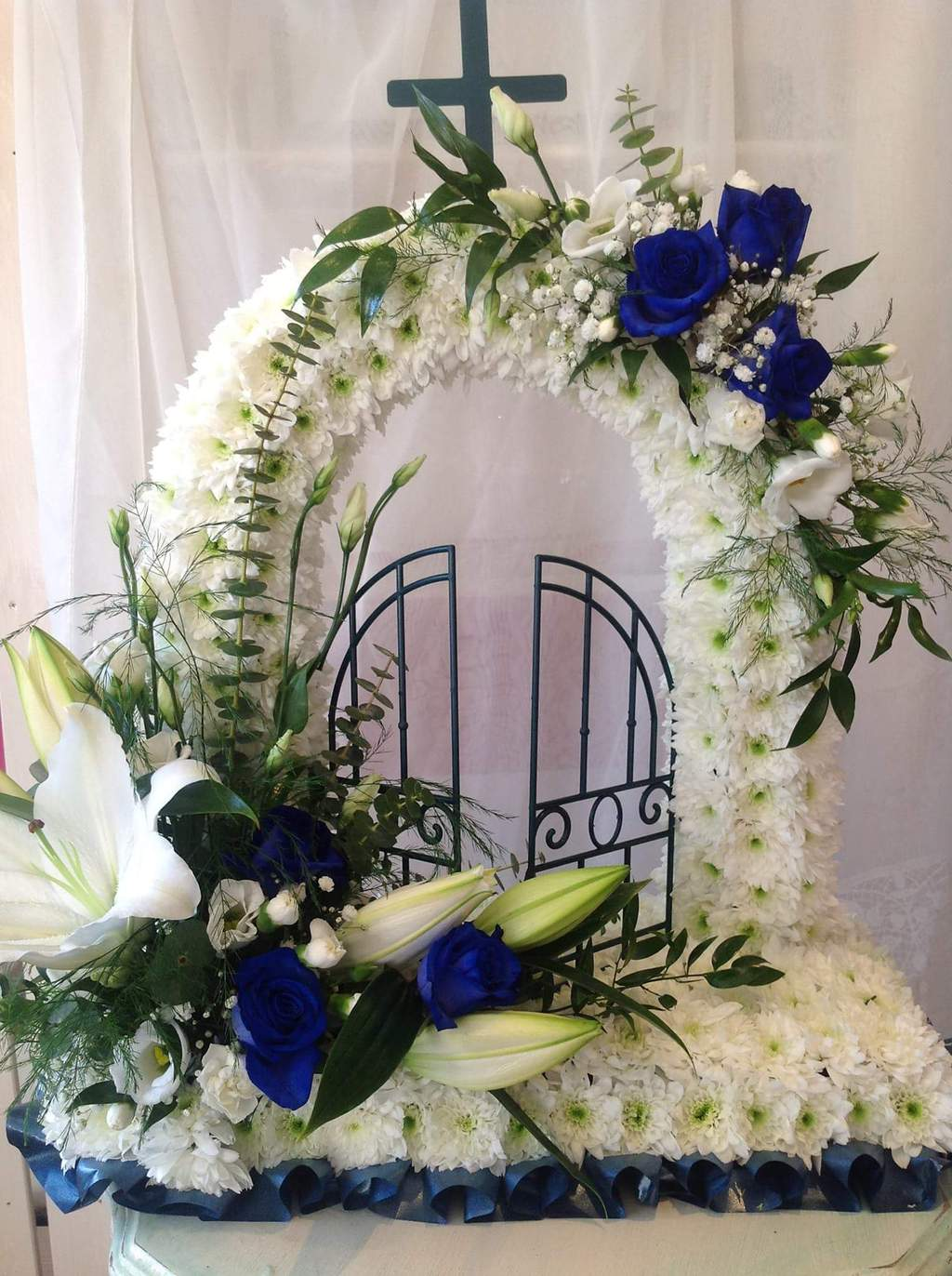 Bespoke blooms florist ackworth garden centre barnsley road the gates of heaven funeral flowers izmirmasajfo