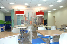 large space planning workplace fit-out