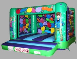 Lovely Low Ceiling Height Party Bouncy Castle