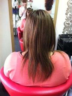 L hair before