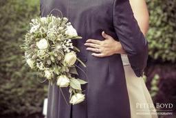 Harris wedding bouquet