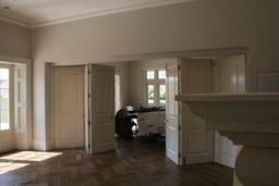 Internal traditional bifolding doors