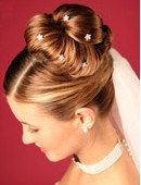 Wedding Hair by Sian