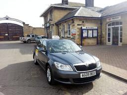 Malton Taxis at Malton Station