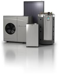 Heat pump, solar Thermal and Tank kit