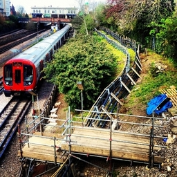 London Network Scaffolding Ltd - Willesden Green Station