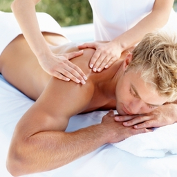 Men's treatments including massage and waxing