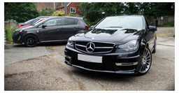 A clients newly delivered C63AMG