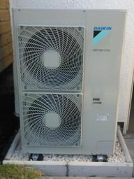 Daiken High Temperature heat Pump installed