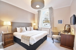 Classic room at Knockendarroch Hotel and Restaurant in Pitlochry