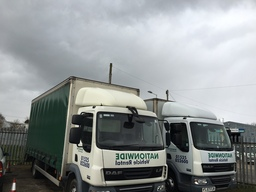7.5 Tonne Curtain Sider and Box