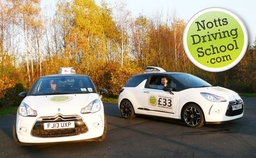 Notts Driving School Citroen Ds3 driving instructor nottingham