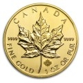 2014 Canadian Maple 1oz Gold Coin