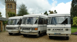 Mercedes S Class Hymer Motohomes for hire in Northampton