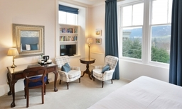 Premier room at Knockendarroch Hotel and Restaurant in Pitlochry