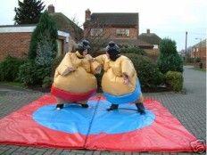 Sumo Suits Children's an Adult suits